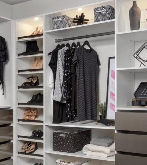 Custom Closet by ClutterX