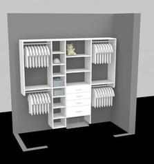 Closet Organizer Design