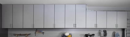 wall Mounted Garage Cabinetry